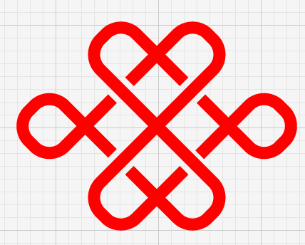 Illustrator制作标准的中国联通标志教程