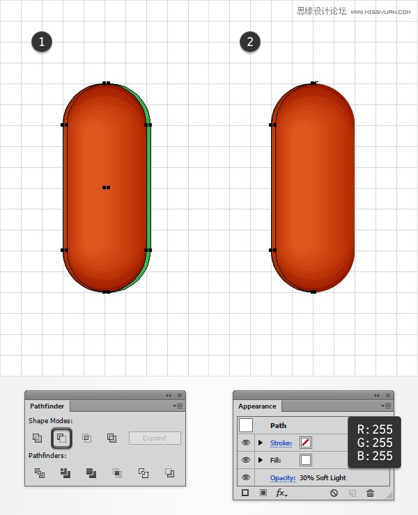 Illustrator制作可爱有趣的小烤肠文字效果
