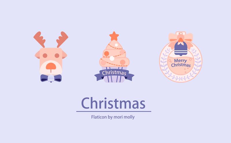 使用Illustrator绘制可爱的圣诞节图标教程