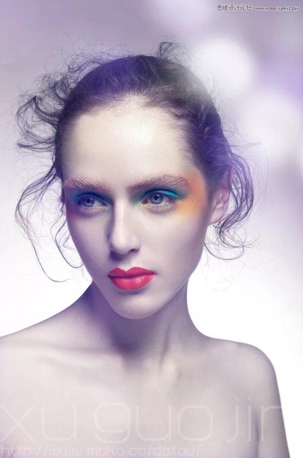 Photoshop调出人物肖像时尚大片封面效果教程